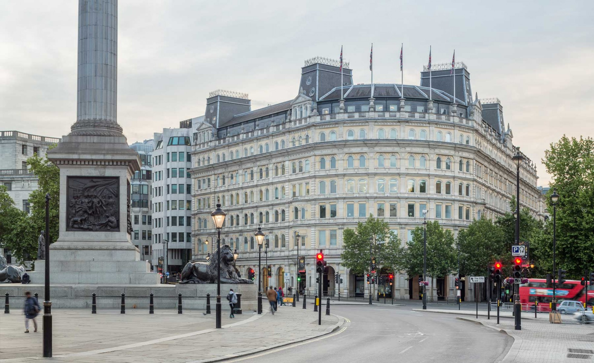 One Strand, London WC2...